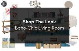 Picture Yourself In A Living Room by Shop The Look A Boho Chic Living Room The Havenly Blog