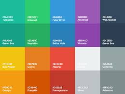 android color flat ui color palette sketch freebie free resource for