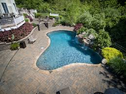inground pools chester 1 pools by design new jersey 14 custom