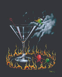 godard martini paintings michael godard goddard art pinterest paintings