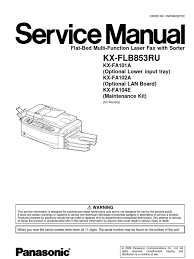 panasonic kx flb853 service manual image scanner microsoft windows