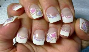 french tip nails superb french tip nail designs for short nails