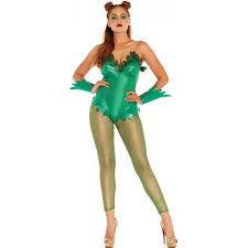 pretty poison ivy womens halloween costume cosplay costumes