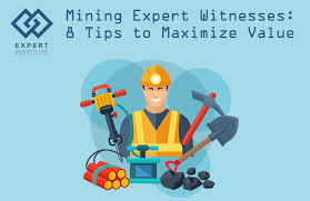 mining expert witnesses 8 tips maximize