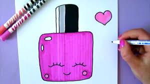 how to draw cute nail polish happydrawings youtube