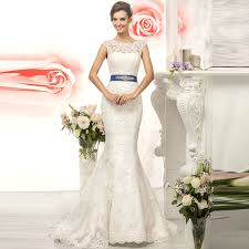 white wedding dress with royal blue sash royal blue mermaid wedding dresses stunning collection blue