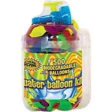 balloon bonanza water sports llc 4 packs 500pc balloon kit walmart