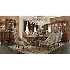 9 piece dining room set amazon com inland empire furniture jacklyn formal 9 piece dining