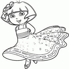 nick jr dora printable coloring pages printable coloring pages charming nickjr coloring pages dora the