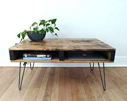 rustic modern coffee table industrial coffee table reclaimed wood rustic vintage scaffold