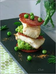 comment cuisiner la saumonette mille feuille de chorizo saumonette petits pois poissons