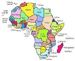africa map study illinois wesleyan department of international studies