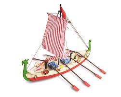 viking ship kids model full kit modelspace