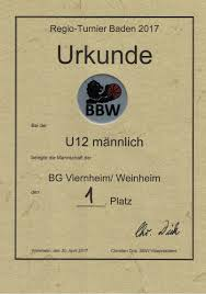 Bezirksliga Baden Baden Chronik Der Basketballabteilung Der Tsg Weinheim