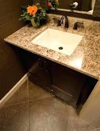 Granite Bathroom Vanities Bathroom Vanity Granite Countertops Vanities Black Throughout For