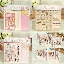 creative photo albums diy album kit pocket scrapbook mini album for kids friend