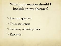 uq thesis abstract what should be in the abstract of a thesis essay academic writing