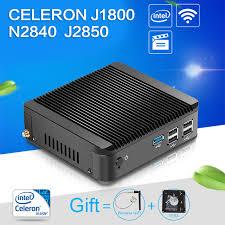 pc bureau wifi intégré xcy mini pc j1800 n2830 n2840 dual 8g ram 128g ssd wifi hdmi