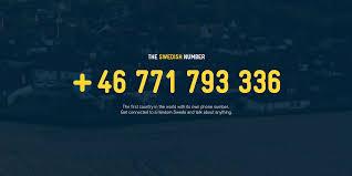 random the swedish number