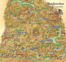Khenarthi S Roost Treasure Map 1 Shadowfen Ebonheart Pact The Elder Scrolls Online Game Guide