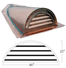 Half Round Dormer Roof Vents by Roof Dormer Vents U0026 Roof Vent Types