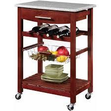 linon kitchen island linon kitchen island cart with granite top walmart com