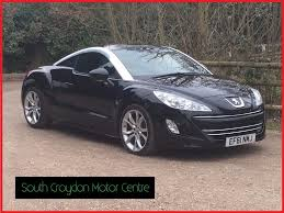 peugeot convertible rcz used peugeot rcz coupe 1 6 thp gt 2dr in kenley surrey south