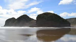 piha beach waitakere a black sand beach close to auckland