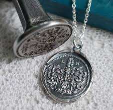 wax seal jewelry 7 best images about wax seals on trees vintage and