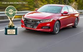 consumers digest u0027s 2018 automotive best buys consumers digest