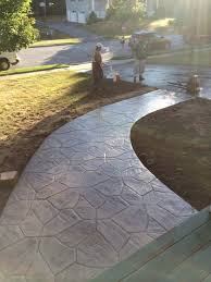 Flagstone Stamped Concrete Pictures by Gallery Lawngevity Landscape And Nursery U2013 Monroe Ny