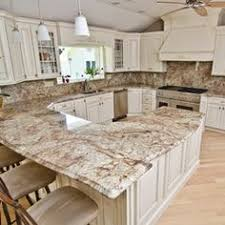 White Kitchen Cabinets With Granite Countertops by Light Granite River White Granite Kitchen Island Countertop
