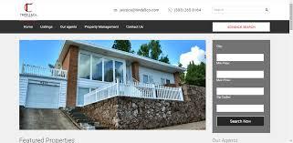 tindellco real estate website teczonlabs portfolio