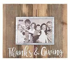 mud pie thanksgiving buy mud pie thanksgiving thanks and giving wood picture frame 5 x