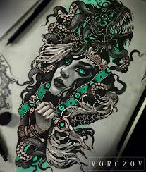 thigh tattoo sketches vitaly morozov tattoo designs pinterest tattoo tatting and