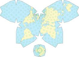 What Is A Map Projection The Waterman Butterfly Projection 1800 X 1279 Mapporn