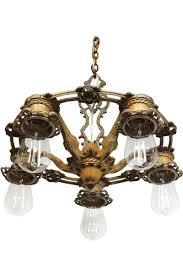 antique chandelier early 1900 u0027s antique chandelier downlight u2013 lightlady studio