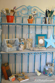 How To Decorate A Bakers Rack Metal Bakers Rack Makeover