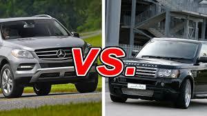 ml mercedes mercedes ml vs land rover range rover sport carsdirect