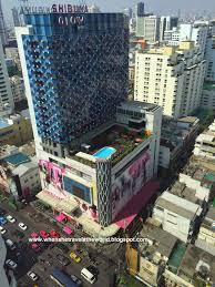 weekend bangkok getaway shopping at platinum fashion mall shibuya glow hotel opposite platinum fashion mall