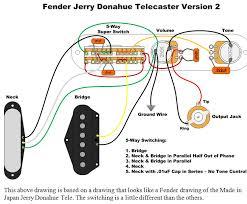 jerry donahue telecaster wiring red herring tone bones