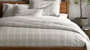 gray bedding west elm pertaining to stylish household grey duvet