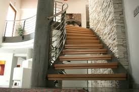 Free Standing Stairs Design Wood And Steel Freestanding Staircase De Stalis Scale