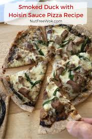 smoked duck with hoisin sauce pizza recipe u0026 smart flour foods