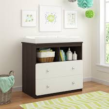 table with drawers and shelves amazon com ameriwood home willow lake changing table gray baby