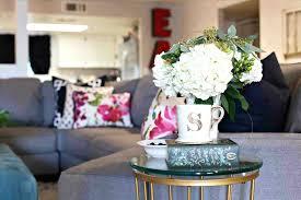 flower arrangements home decor floral arrangements for living room custom spring decor silk