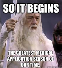 Application Meme - so it begins gandalf memes quickmeme