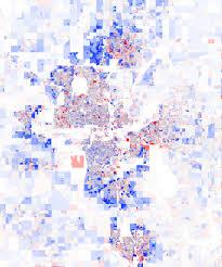 Okc Map Oklahoma City Oklahoma U2013 Population Change 2000 2010 U S Census