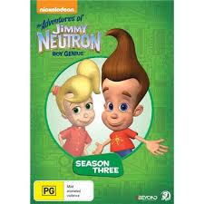 adventures jimmy neutron boy genius season 3 3 dvd jb