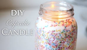 diy cupcake candle youtube